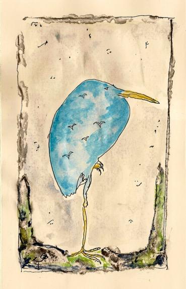 Flamanciel ou L'Oiseau bleu