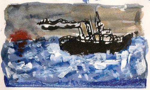 Les travailleurs de la mer V. Hugo